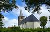 Friesland: Ried village church (Henk Binnendijk) Tags: ried friesland waadhoeke nederland netherlands holland dutch kerk church église kirche monument fryslân