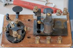 DSCF4226.jpg (RHMImages) Tags: morsecode xt2 radios benicia bug fuji key restoration historic fujifilm hamradio