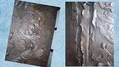 2.343.-- La puerta de Chile en la Cruz del Milenio (SILVIA O.G.) Tags: puertas arte chile coquimbo cruzdelmilenio silviaog estructura bronce iglesia