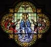 Basilica Candelaria-31 - Version 2 (Paco Barranco) Tags: candelaria tenerife canarias vidrieras satine glass
