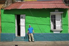 Henrik in colors (Stig Nygaard) Tags: 2010 a650 a650is bolivarianrepublicofvenezuela bolívar bolívarstate canonpowershota650is ciudadbolivar ciudadbolívar creativecommons estadobolívar friends guayana guayanaregion lapeña people photobystignygaard repúblicabolivarianadevenezuela venezuela colorful catchycolors colors catchycolours colourful colours red green blue coloredhouse colored colorfulstreet street town city house cuw18 ven southamerica
