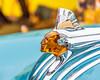 Chief Pontiac (DobingDesign) Tags: blue bodywork amber figure head bokeh depthoffield chrome nativeamerican chief figurehead face likeness carved angular remembrance tribute vintage flawless beautiful car automobile pontiaceight