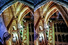 The crypt 3D (Immagini 2&3D) Tags: 3d stereophotography stereoscopy sagradafamilia barcelona catalunya spain