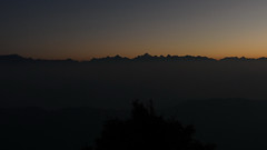 Jagged (draskd) Tags: jagged mountainrange mountaintops dawn daybreak binsar almora silhouettes sunrise jaggedline jaggedinnature nature lines naturalshapes outline