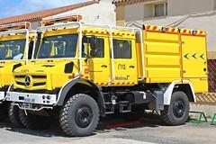 Bomberos Forestales Comunidad de Madrid (emergenciases) Tags: emergencias españa 112 bomberos bomberosfrestales brigadasforestales camión comunidaddemadrid mercedes unimog bfp bombaforestalpesada 3600litros rosenbauer truck autobomba
