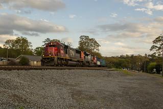 CSX Q580-08 at North Emerson
