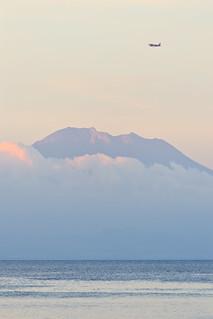 Mt. Agung at Sunset