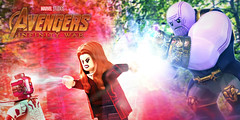 LEGO Avengers: Infinity War - I Just Feel You (MGF Customs/Reviews) Tags: lego avengers infinity war thanos gauntlet scarlet witch vision custom figure minifigure