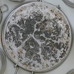 "Food for Thought ""Almuallaqat 4"" [detail] (Leo Reynolds) Tags: xleol30x squaredcircle panasonic lumix fz1000 installation sculpture pot grouprustycrusty xx2018xx sqset143 sqset"