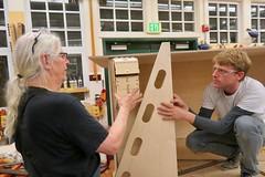 Creating the Art Float - Tam Makers - April 2018 - Photo - 111