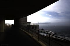 Plymouth Sound. (Lanstephan) Tags: plymouth plymouthhoe devon plymouthsound sailing water tinhaypool sundays sun mist