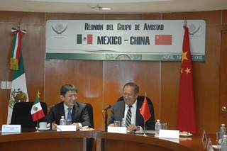 Reunión Del Grupo De Amistad México-China 19 de Abril del 2018