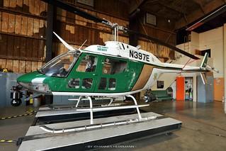 KCSO OH-58 N397E @ Bakersfield