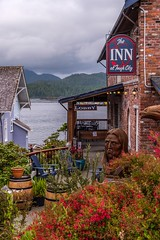 The Inn - Tofino (MIKOFOX ⌘ Thanks 4 Your Faves!) Tags: canada inn xt2 learnfromexif july landscape provia carving fujifilmxt2 mikofox garden showyourexif xf18135mmf3556rlmoiswr