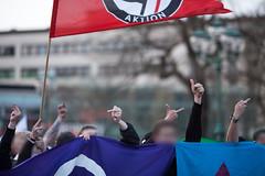 dlelkl99997 (Felix Dressler) Tags: hagida hannover kundgebung pegida opernplatz neonazis gemeinsamstarkdeutschland