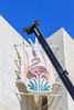 Crane and Flamingo, Las Vegas, Nevada (Mike Sirotin) Tags: architecturephotography flamingo architecture crane travelphotography nv travel lasvegas city nevada sign cityscape vegas cityphotography