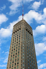 Foshay Tower - W Minneapolis, Minnesota (russ david) Tags: foshay tower w minneapolis minnesota art deco architecture city skyscraper building mn october 2017