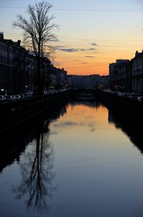 sunset over the channel (gabs_z) Tags: russia stpetersburg