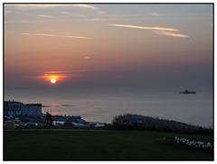 Herne Bay (exreuterman) Tags: sun sunset whitstable hernebay kent sea seaside coast coastline