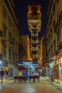 Lissabon Elevador Santa Justa
