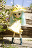 Welcome Spring! (fliki-mec) Tags: pullip full custom doll outland yellow dress hat nature floral lolita spring summer sunny