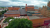 British Library and St Pancras Station (stephengg) Tags: london uk united kingdom british library st pancras hotel station red brick renaissance gothic francis crick institute