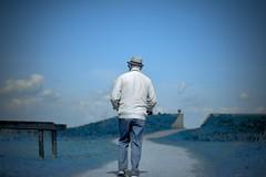 # white # blue (eyeamsterdam) Tags: surrealism people landscape nikon d600 bobpieck eyeamsterdam blue white