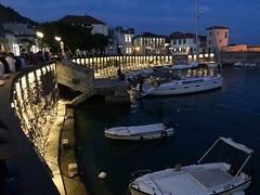Nafpaktos harbour at twilight IMG_1761 (mygreecetravelblog) Tags: greece westerngreece mainlandgreece greecemainland nafpaktos naupactus town outdoor landscape harbor harbour port water bay