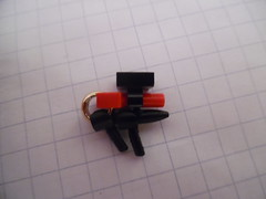 Lego Sci-Fi Alien Phaser (Variation 1) (thebrickccentric) Tags: lego gun phaser ring lord hobbit gold sci fi scifi science fiction blaster laser shoot shot barrel npu piece tiny mini accessory small clone star space fight war wars soldier hand minifig minifigure alien swarm hive insect