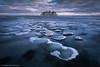 Jason Tiilikainen - Icy Shore (Jason Tiilikainen) Tags: purple ice finland suomi joensuu island clouds cloudy lake water nature landscape nikon d7100 sigma