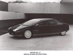 1983 Nissan NX-21 Dream Car (Hugo-90) Tags: nissan datsum press show dream prototype concept study ads advertising gas turbine engine 1983 gasoline petrol nx21
