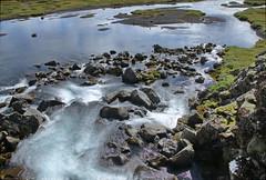 20170817-114235LC-AGP (Luc Coekaerts from Tessenderlo) Tags: iceland isl laugarvatn laugarvatni suðurland þingvellir thingvellir waterfall rock longexposurewater splitdef171059thingvelli public nobody waterscape cc0 creativecommons 20170817114235lcagp coeluc vak201708iceland