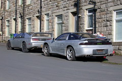 Mitsubishi GTO  & Nissan 300ZX (Lawrence Peregrine-Trousers) Tags: autoshite ffffffffff car spots spotted mitsubishi nissan 300 300zx gto fairlady jdm mmc 3000gt stealth chrysler