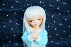 [May of Dolls 7/31] - Wish ♥ (SunShineRu) Tags: littlefee ltf lishe may dolls fairyland bjd ball jointed doll wish blue white star yosd