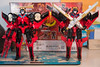 DSC_1281 (Quantum Stalker) Tags: takara hasbro legends windblade targetmaster headmaster sword gun vtol jet fans japanese transformer titans return lg62 lg painted comparison