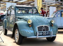 Citroën 2CV AZL (Skylark92) Tags: nederland netherlands holland noordholland citromobile 2018 vijfhuizen expo haarlemmermeer citroën 2cv al azl 1961 am3095