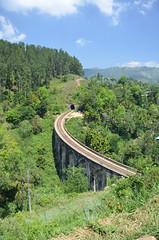 Nine Arch Bridge, Ella, Sri Lanka (CRAddison) Tags: sri lanka landscape scenery beautiful asia nine arch bridge railway track ceylon srilanka train trainline tunnel countryside hills hilly valley viaduct sweeping curve bend