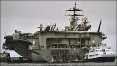 USS HARRY TRUMAN CVN 75 (Fleet flyer) Tags: ussharrytruman cvn75 ussharrytrumancvn75 portsmouth solent aircraftcarrier unitedstatesnavy usn navalaviation usnavy hampshire
