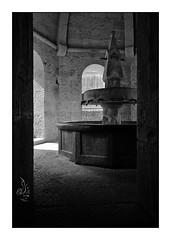 Thoronet, abbey (orichier) Tags: france var abbey church religious blackwhite architecture light shadow