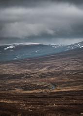 Long Road, Scary Sky (lukebray) Tags: dramatic sky moody dark grand big angry anger grey imposing