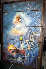 20170806 1302 - yardsale haul - Wizard art - IMG_2748