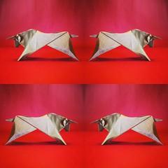 Toro - Luigi Leonardi (Stefano Borroni (Stia)) Tags: toro bull origami carta paper origamilove arte origamiart papiroflexia leonardi piegarelacarta zodiaco cdoitalia bovini natura animals animali