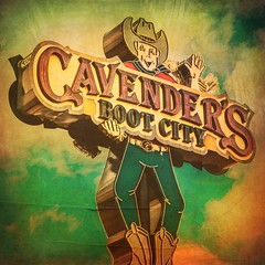 Cavender's Sign (Mabry Campbell) Tags: cowboy squarecrop mabrycampbell photo image usa cavender's texas distressed logo sign neon 2018