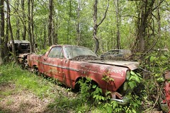 IMG_5842 (mookie427) Tags: urbex urban explore exploration explorers exploring ue derelict abandoned decay decayed ruin ruined car graveyard scrapyard old junkyard rusty rusted classic cars city georgia usa