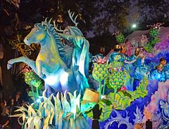 """Wild Hunt"" - Proteus Float #12 (BKHagar *Kim*) Tags: bkhagar mardigras neworleans nola la parade celebration people crowd beads outdoor street napoleon uptown float horse ride wild night wildhunt proteus krewe float12"