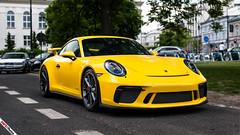 Speed Yellow GT3 (m.grabovski) Tags: porsche 911 991 gt3 speed yellow warszawa warsaw polska poland mgrabovski