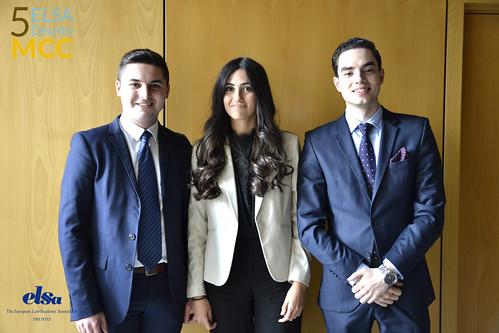 """La asociación de estudiantes de Derecho, ELSA-Deusto, organiza la V """"Moot Court Competition"""", un juicio simulado sobre Derecho Civil"""
