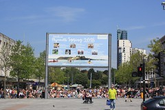 The Big Screen (lazy south's travels) Tags: plymouth devon england english britain british uk center centre urban candid