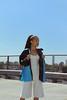 IMG_0156LR (Ellexxx) Tags: model canon50d ellexxx eleanorjayakoddy mixedrace biracial fashion garments fauxfur coat sky blue skyline urban streetart graffiti london uk croydon buildings concrete roof decay denim ethicallysourced fabric pastels summer woc womenofcolour makeup beautiful beauty art