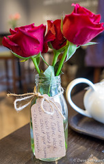 Message on a bottle (daveseargeant) Tags: roses red bottle message leica x typ 113 greenwich london colour